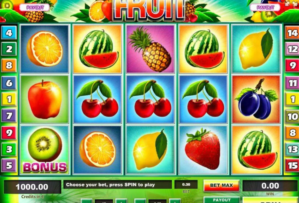 Kiss the Fruit Slots